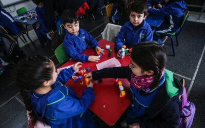 Alumnos de preescolar y 1º básico Mirador obtienen 97% de logro en medición de Fundación Astoreca